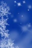 De vlokken van de sneeuw. Royalty-vrije Stock Afbeeldingen