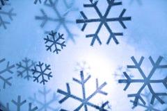 De vlokken van de sneeuw Royalty-vrije Stock Afbeelding