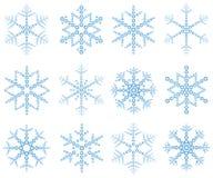 De vlokken van de ?sneeuw? Royalty-vrije Stock Afbeeldingen
