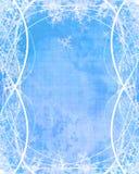 De vlokken van de sneeuw vector illustratie