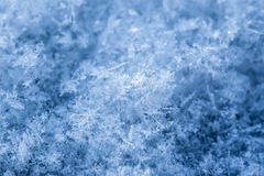 De vlokkentextuur van de sneeuw Stock Fotografie