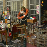 De vlooienmarkt van Lissabon royalty-vrije stock fotografie