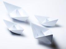 De vloot van de origami royalty-vrije stock foto