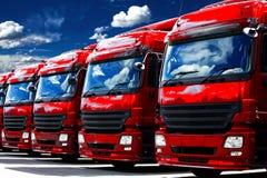 De vloot van het vervoer stock foto's
