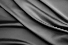 De vlotte kleurloze achtergrond van de zijdestof Royalty-vrije Stock Fotografie
