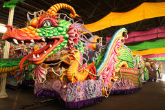 De Vlotter van de Parade van Gras van Mardi Royalty-vrije Stock Afbeelding