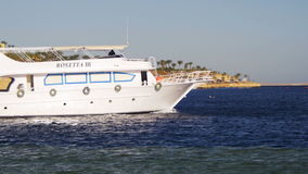 De Vlotters van het cruiseschip in het Rode Overzees royalty-vrije stock afbeeldingen