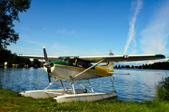 De vlottervliegtuig van de meerkap Stock Fotografie