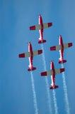 De vlucht toont Stock Foto