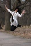 De vlucht van de fantasie van meisje. Royalty-vrije Stock Afbeeldingen