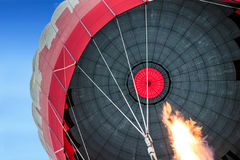 De vlucht van de hete luchtballon, Cappadocia Stock Foto's