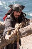 De Vlucht van de piraat Royalty-vrije Stock Afbeelding