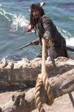 De Vlucht van de piraat Stock Fotografie