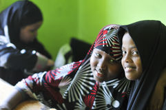 De vluchteling van Somalië Stock Afbeeldingen
