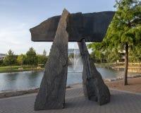 ` De voûte du ` s de Brent de ` par Harry Gordon, Hall Park, Frisco, le Texas Photographie stock libre de droits