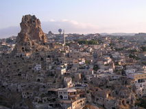 De voederbak - Cappadocia Stock Afbeeldingen