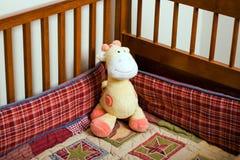 De voederbak van de giraf Royalty-vrije Stock Foto's