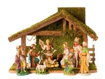 De Voederbak van Kerstmis Stock Fotografie
