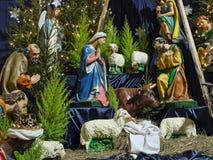 De voederbak van Kerstmis Royalty-vrije Stock Fotografie