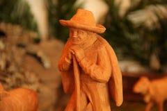 De voederbak van Kerstmis Royalty-vrije Stock Afbeelding