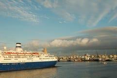 De Voering van de cruise Stock Fotografie