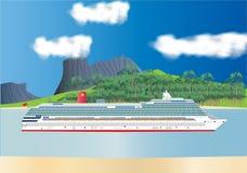 De Voering van de cruise stock illustratie