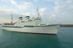 De voering van de cruise Stock Foto