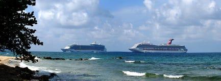 De Voeringen van de cruise royalty-vrije stock afbeeldingen