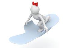 De voeringsvlieger van het damesslipje - Levensstijl Stock Foto