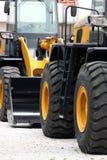 De voertuigen van de bouw Royalty-vrije Stock Fotografie