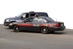 De Voertuigen van de politie Stock Foto's