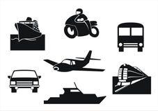 De voertuigen van het vervoer Stock Fotografie