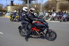 De voertuigen van motorfest Stock Foto