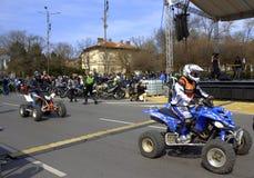 De voertuigen van motorfest Stock Afbeelding