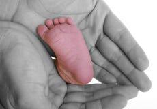 De voet van de baby Royalty-vrije Stock Foto's