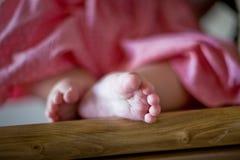 De voet van de baby Royalty-vrije Stock Afbeeldingen