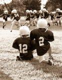 De voetbal van de jeugd Stock Foto