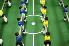 De voetbal van de lijst Stock Foto's
