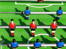 De voetbal van de lijst Royalty-vrije Stock Afbeelding