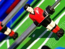 De voetbal van de lijst Stock Foto