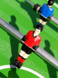 De voetbal van de lijst Stock Fotografie