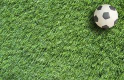 De Voetbal van de plasticine Stock Afbeelding