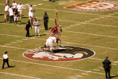 De Voetbal van de Staat van Florida Royalty-vrije Stock Afbeelding