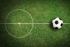De voetbal van de voetbalbal Stock Foto's