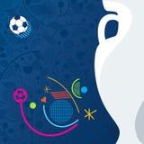 De Voetbal van EURO 2016 Stock Afbeelding