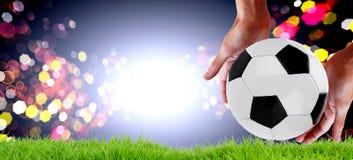 de voetbal van de gelijkewereld kampioenschap stock foto
