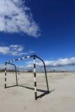 De Voetbal van het strand royalty-vrije stock foto