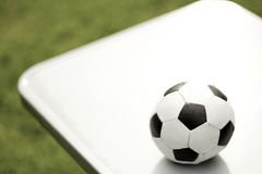 De Voetbal van het stuk speelgoed Royalty-vrije Stock Foto