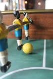 De voetbal van het Tafelbladfoosball van voetbalbrazilië Royalty-vrije Stock Afbeelding