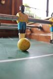 De voetbal van het Tafelbladfoosball van voetbalbrazilië Royalty-vrije Stock Foto